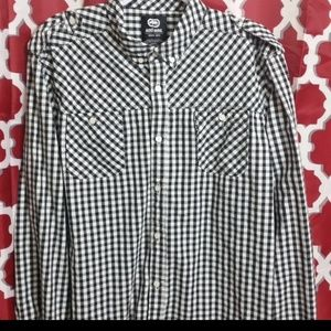 Ecko Unlimited Long Sleeve Button Down Shirt